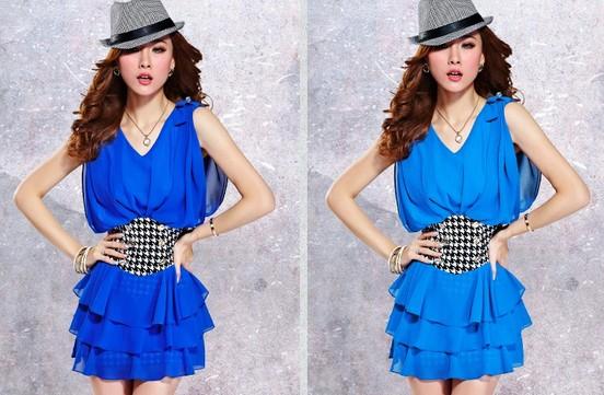 【穿衣搭配】夏季蓝色搭配什么颜色好看?潮人们蓝色!